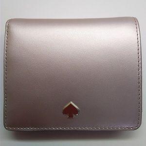 Kate Spade Gold Bi-Fold Wallet